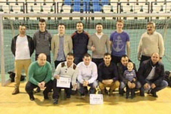 Rozhodcovia ObFZ Prievidza obsadili konečné tretie miesto.