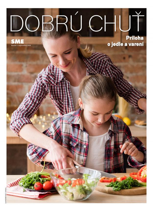 Príloha o jedle - Dobrú chuť vyjde v stredu 5. septembra. (SME.sk)