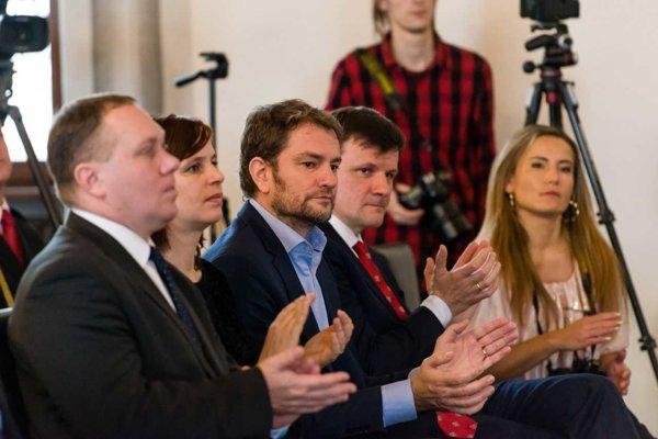 Lídri OĽaNO Igor Matovič a KDH Alojz Hlina rozbiehajú užšiu spoluprácu.