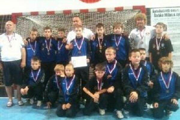 Mladší žiaci skončili na Majstrovstvách Slovenska na treťom mieste.