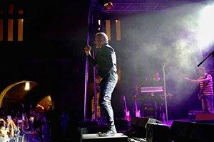 David Koller vo Zvolena na podujatí Festival na zámku
