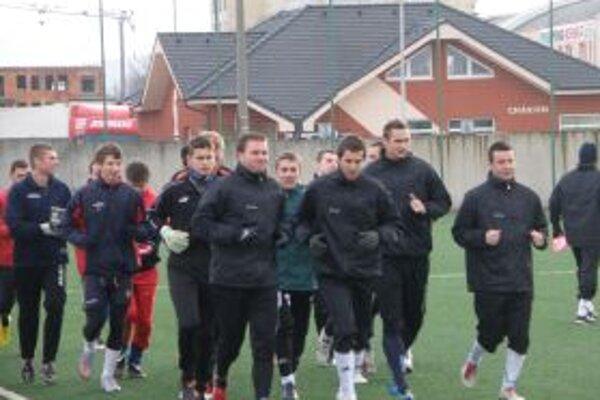 Prvého tréningu sa zúčastnilo 25 hráčov.