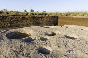 Pozostatky sa podľa archeológov datujú ešte do obdobia pred faraónmi.