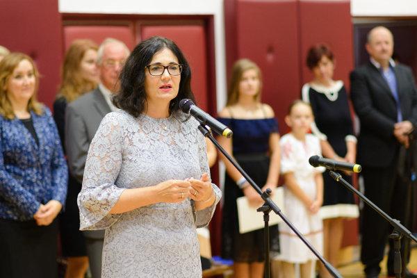 Ministerka Lubyová navštívila Základnú školu na Tribečskej ulici v Topoľčanoch.