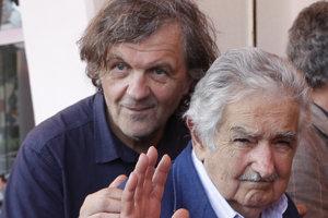 Režisér Emir Kusturica a bývalý uruguajský prezident José Mujica.