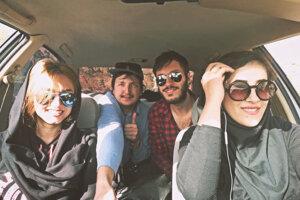 Výlet s iránskymi couchsurerkami.