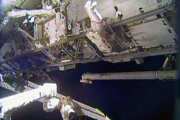 Medzinárodná vesmírna stanica.