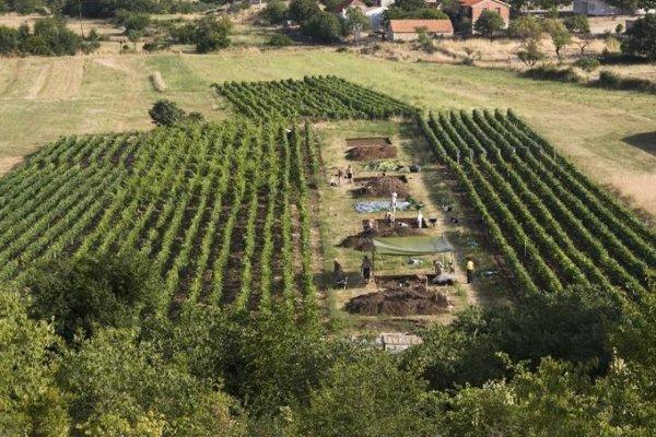 Archeologické nálezisko Pokrovnik na Dalmácii.