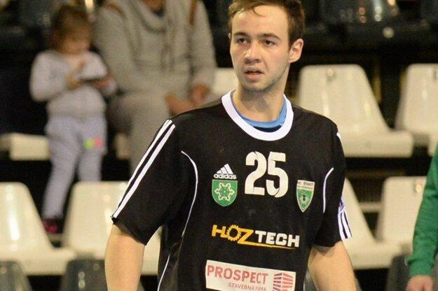 Filip Ficza strelil šesť gólov svojho mužstva v zápase proti Hlohovcu