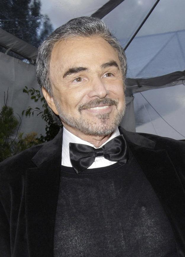 Burt Reynolds na snímke z roku 2008.
