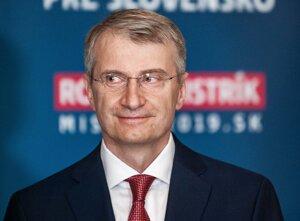 Robert Mistrík - kandidát na prezidenta.