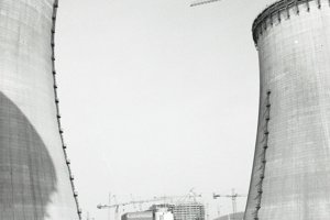 13. október 1987. Z výstavby elektrárne.