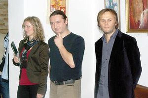 Marcel Mušák patrí medzi mladšiu generáciu púchovských výtvarníkov.