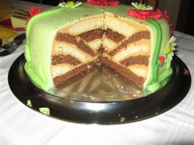 Prevrátená torta