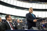 Orbán v europarlamente.