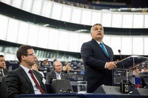 Orbán vystúpil v europarlamente.