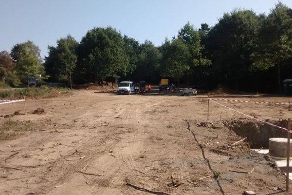 Stavba nového útulku sa už začala.