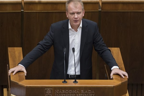 Líder mimoparlamentnej strany Spolu - občianska demokracia Miroslav Beblavý.
