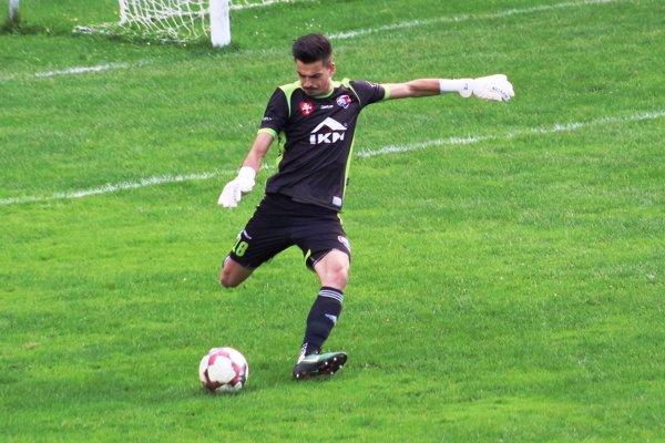 Tomáš Lehocký zatiaľ inkasoval v doterajšom priebehu sezóny len 5 gólov.