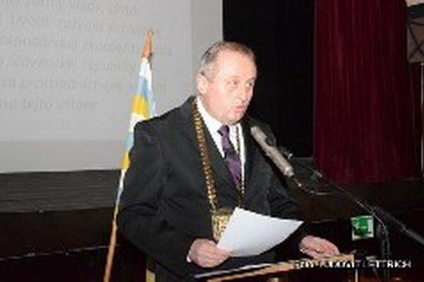 Igor Hus, nový primátor Turčianskych Teplíc.
