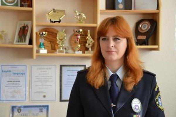 Janka Húsková, koordinátorka preventívno-výchovných činností MsP Martin.