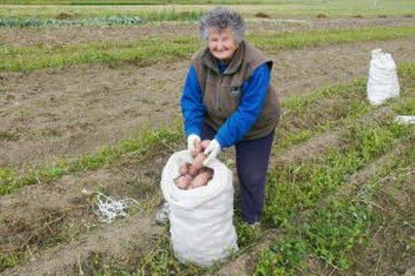 """Marta Šípková - """"Mám už 75 rokov, ale zemiaky sme nekupovali."""""""