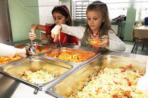 Od januára budú obedy zadarmo v materských školách. Ilustračné foto.