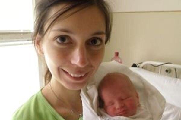 Šťastná mamina Janka so synom Matejom.