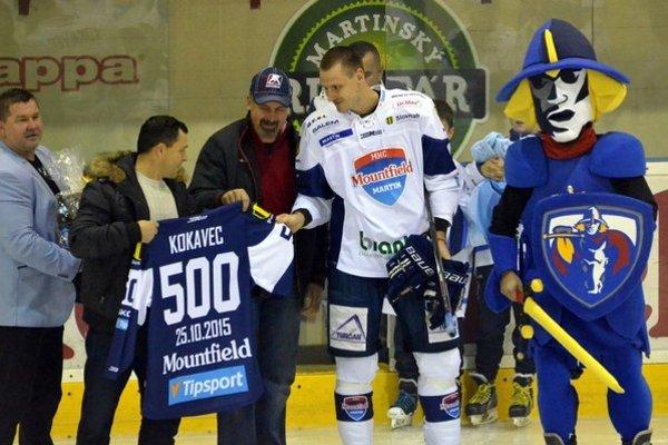 Michal Kokavec o malej oslave vôbec netušil. Veľmi ho prekvapila a ďakuje za ňu.