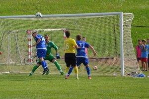 Domaniža (v modrom) doma gól neinkasovala.