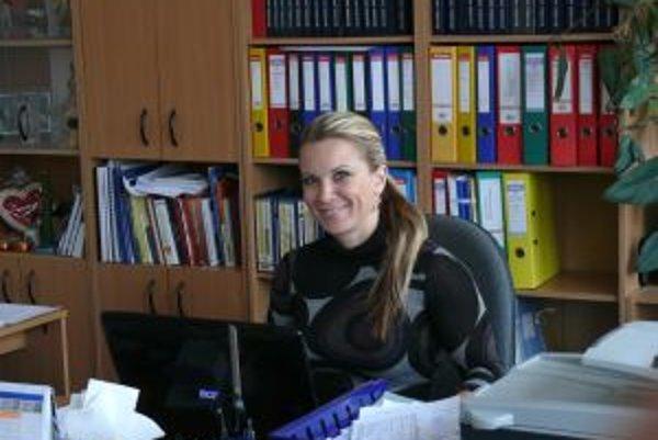 Katarína Tomášová je na MsÚ v Martine šéfkou oddelenia sociálnych služieb.