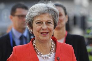 Britská premiérka Theresa Mayová na neformálnom summite Európskej únie v rakúskom Salzburgu.