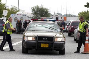 Polícia zasahovala v Marylande pri streľbe v distribučnom centre spoločnosti Rite Aid.
