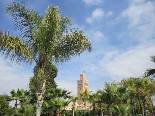 Marakéš má horúce stepné podnebie.