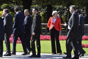 Britská premiérka v Salzburgu kolegov nepresvedčila.