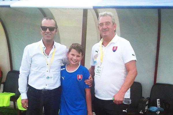 Peter Gergely (vpravo) aj Ladislav Gádoši mohli na záver kvalifikácie v Rumunsku rozdávať úsmevy.