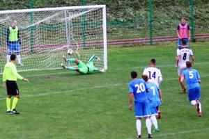 Lupčo premenil penaltu v 85. minúte.
