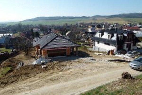 Atraktívna lokalita vo Valči je na stavbu domu ideálna.
