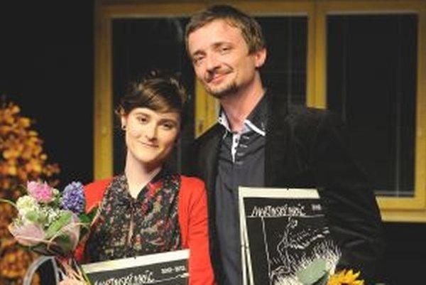 Čerství nositelia Ihráča 3013 Zuzana Rohoňová a Daniel Heriban.