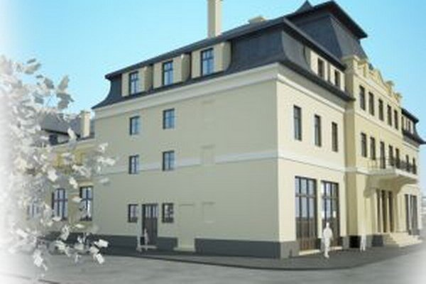 Po rekonštrukcií bude budova takto reprezentovať mesto Vrútky.
