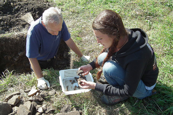 Výskum viedla archeologička Oravského múzea Barbora Danielová.