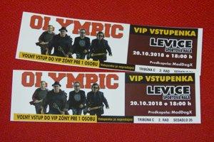 Česká kapela Olympic vystúpi v Leviciach 20. októbra.
