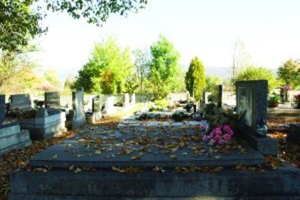 Teplický cintorínHroby sú mnohokrát terčom zlodejov.