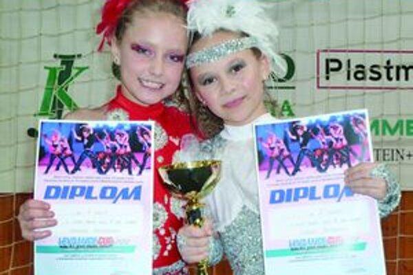 Mirka Človiečiková a Claudia Šustrová po levickej pohárovej súťaži.