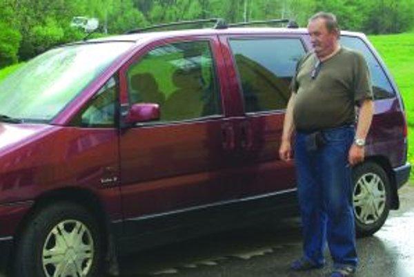 Auto Ivana Hrabana je už dva mesiace nepojazdné.