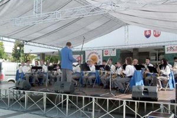 Na podujatie prišli aj hudobníci z Chorvátska.