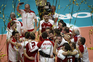 Poliaci sa stali majstrami sveta vo volejbale.