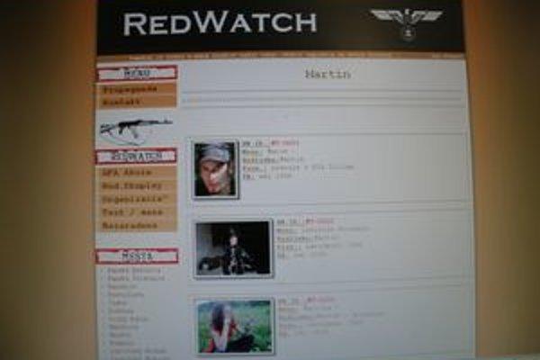 Na čiernej listine Redwatchu sa objavili aj fotky piatich Martinčanov, na mennom zozname sú ďalší.