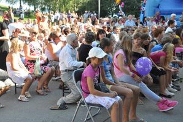 Slávnosti prilákali množstvo návštevníkov.