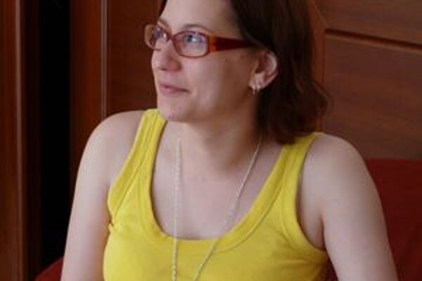 Dramaturgička detských programov Lenka Dzadíková na šiestom ročníku martinského festivalu divadiel Dotyky a Spojenia.